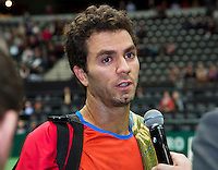 11-02-14, Netherlands,Rotterdam,Ahoy, ABNAMROWTT,Jean-Julien Rojer(NED)<br /> Photo:Tennisimages/Henk Koster