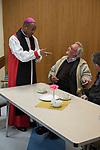 The Rt. Rev. Dr. Trevor Mwamba, Vicar of St Margarets at the Nepton Distribution Barking Essex 2019.