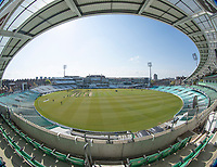 A bright morning at the Oval during Surrey CCC vs Hampshire CCC, LV Insurance County Championship Group 2 Cricket at the Kia Oval on 1st May 2021