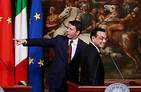 20141014 ROMA-ESTERI: RENZI INCONTRA IL PRIMO MINISTRO CINESE LI KEQIANG