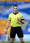 St Johnstone v St Mirren…16.01.21   McDiarmid Park     SPFL<br />Referee Steven McLean<br />Picture by Graeme Hart.<br />Copyright Perthshire Picture Agency<br />Tel: 01738 623350  Mobile: 07990 594431