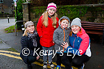 Helen Murphy, Diane Tierney and Caoimhe O'Sullivan enjoying a stroll in the town park in Killarney on Saturday.