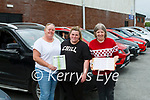 Outdoor Bingo resumed last Sunday in Fr. Casey's Club carpark . Proceeds in aid of the Glórach Theatre Abbeyfeale <br /> Thanks to all our volunteers on the day, and also to all of you who attended and made our outdoor bingo such a success. <br /> It was great to see both familiar and new faces, and whatever the weather we look forward to seeing you again over the coming weekends. <br /> From Castleisland : Jackie O' Connor, Jennifer O' Connor & Margaret Browne.