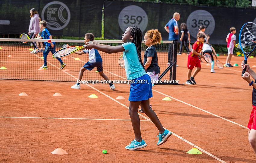 Amstelveen, Netherlands, 7 Juli, 2021, National Tennis Center, NTC, Amstelveen Womans Open, Kidsday<br /> Photo: Henk Koster/tennisimages.com