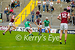 Action from Causeway v Ballyduff in round 2 of the County Senior Hurling championship,