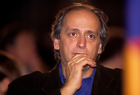FILE PHOTO -  Jacques Larose au salon du livre<br /> , Octobre 1995<br /> <br /> <br /> PHOTO :   Agence quebec Presse