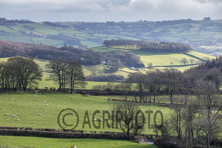 Welsh farming landscapes<br /> Picture Tim Scrivener 07850 303986