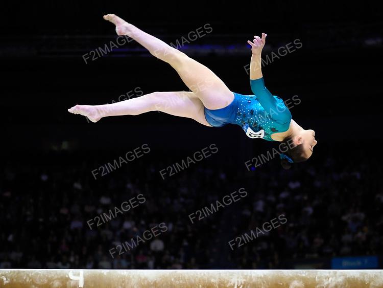 World Cup Gymnastics Birmingham 22.3.2018.