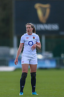 Emily Scarratt of England during the Guinness Six Nations match between England Women and Scotland Women at Castle Park Stadium, Doncaster, England on 3 April 2021. Photo by Thomas Gadd / PRiME Media Images.