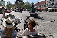 Lille Torg in Kristianstad, Provinz Skåne (Schonen), Schweden, Europa<br /> Lille Torg  in Kristianstad, Province Skåne, Sweden