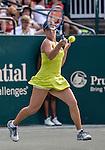 Danka Kovinic (MNE) loses to Andrea Petkovic (GER) 2-6, 6-3, 6-1  at the Family Circle Cup in Charleston, South Carolina on April 10, 2015.