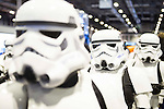 Stormtrooper cosplay at Expocomic 2016 in Madrid, Spain. December 03, 2016. (ALTERPHOTOS/BorjaB.Hojas)