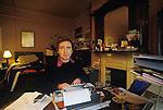 Clive Murphy. 132 Brick Lane flat, East London 1974 1970s. UK
