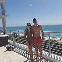 COPY BY TOM BEDFORD<br /> Pictured: Emily Lock with boyfriend Mark Price in Miami, USA<br /> Re: Emily Lock, who studied law and criminology at university was jailed for 15 months along with her drug dealing boyfriend who was given a seven-year prison sentence<br /> 22 year old Lock, a former pupil at Fleur-de-Lys' Ysgol Gyfun Cwm Rhymni, had hoped one day that she would become a probation officer but a modern fascination with a Kim Kardashian type of lifestyle was hinted at as a motivation for her fall.<br /> But her dreams are in tatters after she was put behind bars at Merthyr Tydfil Crown Court after admitting acquiring criminal property.<br /> Lock, the court heard had posted pictures of herself living the highlife on Instagram and that over the space of a year in 2016, she had been on holiday to Amsterdam twice, Paris, Alicante, Miami and Dubai.
