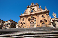 Baroque Cathedral of Modica - Madonna di Trapani - Madonna of Trapani, , Modica, Sicily