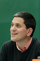 Pictured: David Miliband signs copies of her book<br /> Re: Hay Festival at Hay on Wye, Powys, Wales, UK. Saturday 02 June 2018