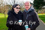 Enjoying a stroll in the Tralee town park on Saturday, l to r: Adrianna Rabsa and Bernard Fiedorek.