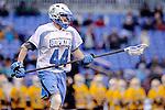 Face-Off Classic: Defensemen Gavin Crisafulli #44 Hopkins during the UMBC v Johns Hopkins mens lacrosse game at M&T Bank Stadium on March 10, 2012 in Baltimore, Maryland. (Ryan Lasek/ Eclipse Sportswire)