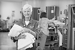 April 28, 2011.  Volunteers at St. Anthony's North hospital in Westminster, Colorado.  Photo by Ellen Jaskol.