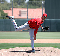 Jacob Voss - Los Angeles Angels 2019 extended spring training (Bill Mitchell)