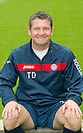 St Johnstone FC...Season 2011-12.Asst Manager Tony Docherty.Picture by Graeme Hart..Copyright Perthshire Picture Agency.Tel: 01738 623350  Mobile: 07990 594431