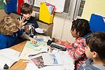 Education elementary school grade 3 group social studies project