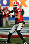 December 30, 2016: Georgia Bulldogs quarterback Jacob Eason (10) in the first half of the AutoZone Liberty Bowl at Liberty Bowl Memorial Stadium in Memphis, Tennessee. ©Justin Manning/Eclipse Sportswire/Cal Sport Media