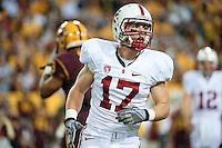 TEMPE, AZ - November 13, 2010: Griff Whalen during a football game at Arizona State University in Tempe, Arizona. Stanford won 17-13.