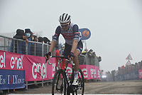 22th May 2021, Cittadella, Padua, Italy; Giro D Italia stage 14, Cittadella to Monte Zoncolan; Trek - Segafredo Mollema, Bauke enters Monte Zoncolan