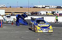Jul. 28, 2013; Sonoma, CA, USA: NHRA funny car driver Ron Capps after defeating John Force to win the Sonoma Nationals at Sonoma Raceway. Mandatory Credit: Mark J. Rebilas-