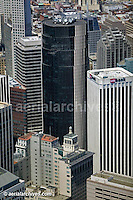 aerial photograph 101 California Street 100 CA St US Bank San Francisco adjacent office towers