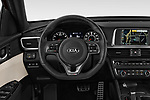 Car pictures of steering wheel view of a 2017 KIA Optima SX Limited AT 4 Door Sedan