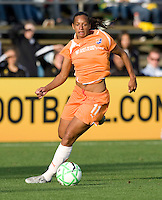03 May 2009: Rosana of the Sky Blue FC in action during the game against FC Gold Pride at Buck Shaw Stadium in Santa Clara, California.   FC Gold Pride defeated Sky Blue FC, 1-0.