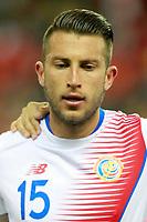 Costa Rica's Francisco Calvo during international friendly match. November 11,2017.(ALTERPHOTOS/Acero)