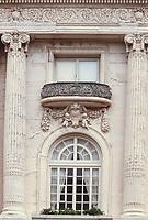 San Francisco, California, USA. Pacific Heights, Spreckels Mansion, Octavia Street.