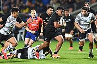 17th July 2021; Hamilton, New Zealand;  Samisoni Taukei'aho. All Blacks versus Fiji, Steinlager Series, international rugby union test match. FMG Stadium Waikato, Hamilton, New Zealand.
