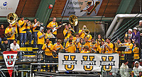 18 October 2009: The University of Vermont pep band entertains and envigors the fans during a game against the Boston College Eagles at Gutterson Fieldhouse in Burlington, Vermont. The Catamounts defeated the Eagles 4-1 to open Vermont's America East hockey season. Mandatory Credit: Ed Wolfstein Photo