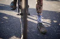 mud shoes<br /> <br /> Koppenbergcross 2014
