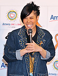 """AI, Dec 12, 2011 : AI attends the Amway Japan's charity event in Tokyo, Japan, on December 12, 2011. Jacksons visited to Japan for perform at an event """"Michael Jackson tribute live"""" in Tokyo, on December 13th and 14th."""