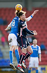 St Johnstone v Ross County…24.02.18…  McDiarmid Park    SPFL<br />Chris Rowtis and Murray Davidson<br />Picture by Graeme Hart. <br />Copyright Perthshire Picture Agency<br />Tel: 01738 623350  Mobile: 07990 594431