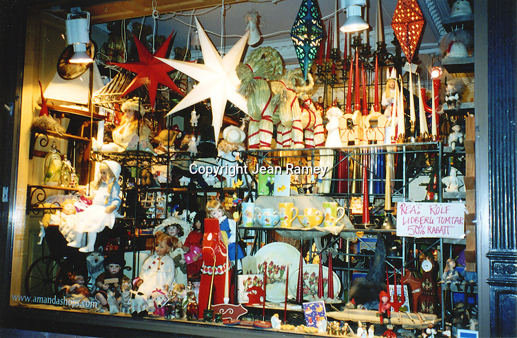 Christmas Window, Stockholm