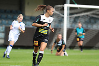 Aalst's Anaelle Wiard (16) in aciton during a female soccer game between Eendracht Aalst and Dames Club Brugge YLA on the first matchday of the 2020 - 2021 season of Belgian Women's SuperLeague , friday 28 of August 2020  in Aalst , Belgium . PHOTO SPORTPIX.BE | SPP | SEVIL OKTEM