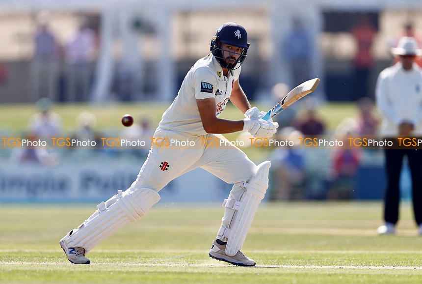 Jack Leaning bats for Kent during Kent CCC vs Worcestershire CCC, LV Insurance County Championship Division 3 Cricket at The Spitfire Ground on 5th September 2021