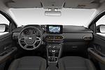 Straight dashboard view of a 2021 Dacia Sandero Stepway Plus 5 Door Hatchback
