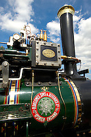 A Ransomes, Sims and Jeffersons of Ipswich steam traction engines