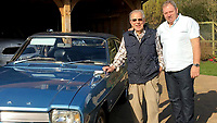 BNPS.co.uk (01202) 558833. <br /> Pic: AndrewLast/BNPS<br /> <br /> Pictured: Fred Last with his son Andrew and the Capri. <br /> <br /> Pensioner Fred Last has bought back his beloved Ford Capri more than 20 years after he sold it.<br /> <br /> Fred, 92, bought the Mark One Capri from new in 1971 and it was his pride and joy for almost three decades.<br /> <br /> He regularly used the vehicle for family holidays and day trips before selling it in 1999, once his children had grown up.