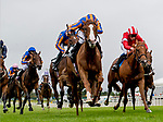 September 15, 2019 : Love #4, ridden by Ryan Moore, wins the Moyglare Stud Stakes during Irish Champions Weekend Day Two at The Curragh in Curragh, Ireland. Scott Serio/Eclipse Sportswire/CSM