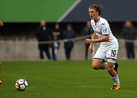 Pictured: George Byers of Swansea.  Friday 11 August 2017<br /> Re: Premier League 2, Division 1, Swansea City U23 v Liverpool U23 at the Landore Training Ground, Swansea, UK