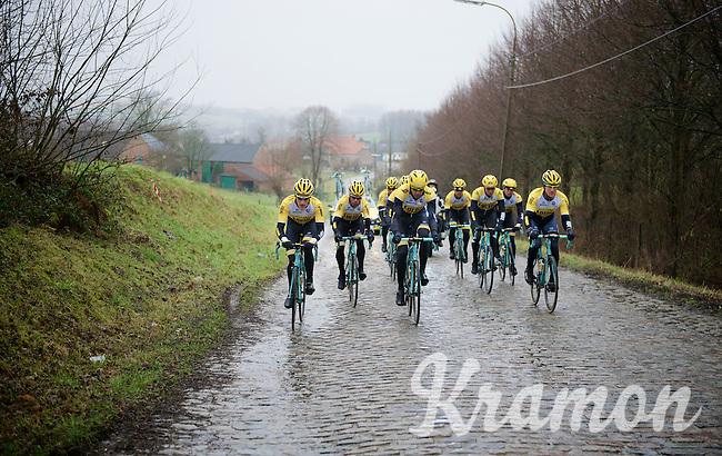 2015 Omloop Het Nieuwsblad recon by Team LottoNL-Jumbo