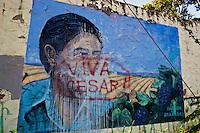 Cesar Chavez Mural in South Austin